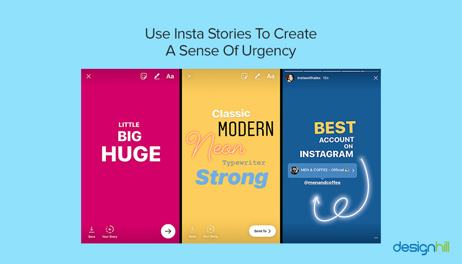 Use Insta Stories
