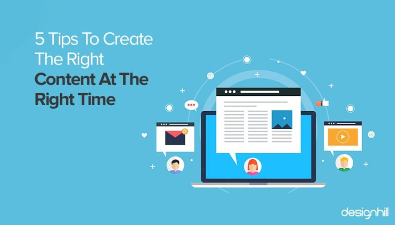 Create Content At the Right Time