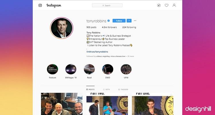 Inspiring Instagram Account