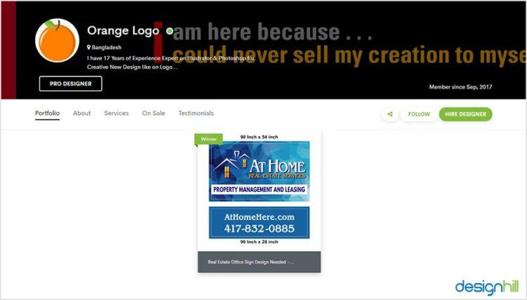 Design a Signage