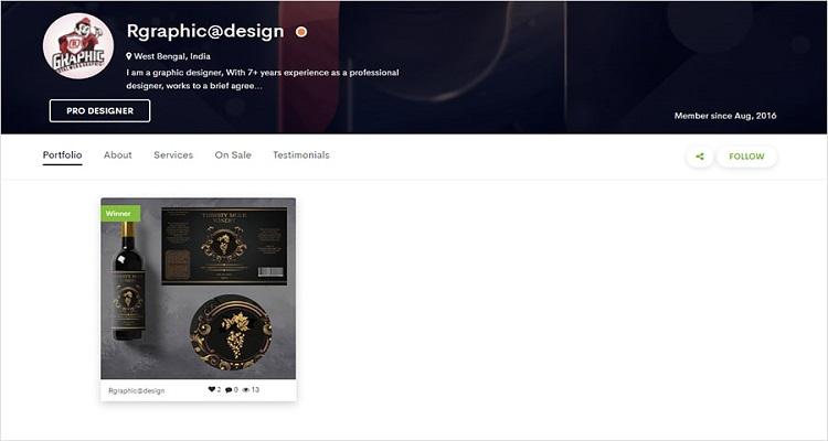 Unique Label Design