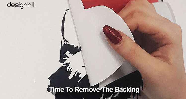 Remove The Backing