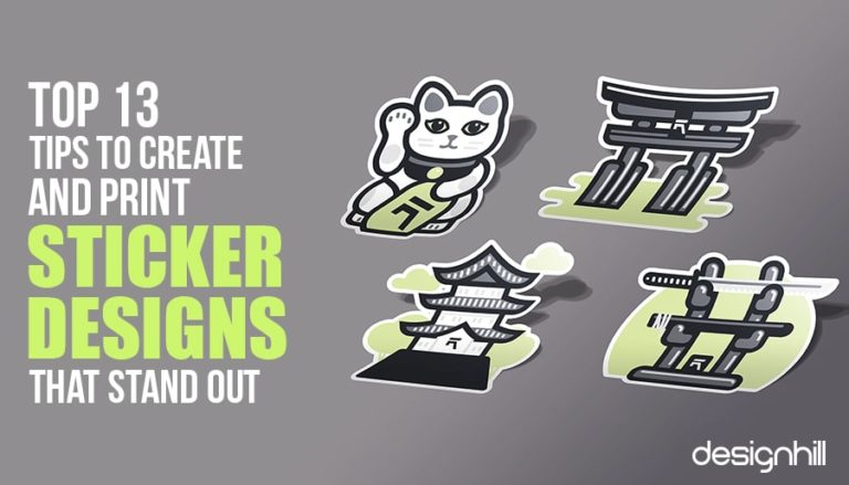Top 13 Tips To Create And Print Sticker Designs That Stand Out