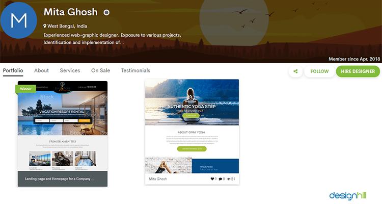 Freelance Landing Page Designers