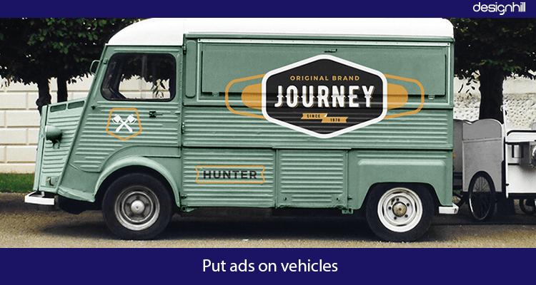 Vehicle Advertising Ideas