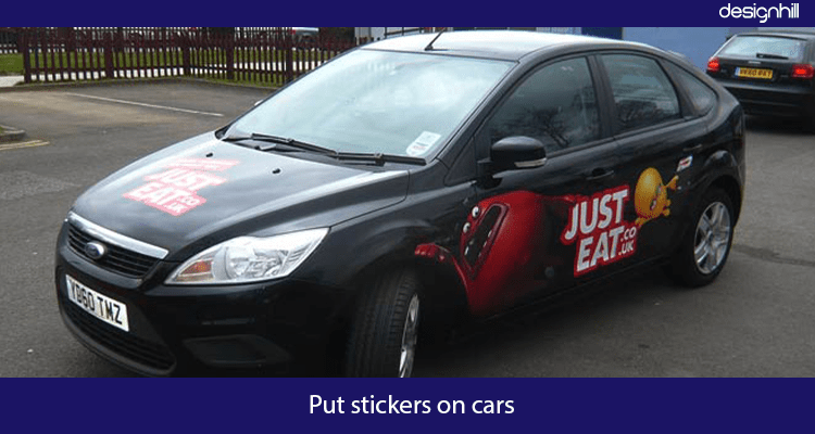 Car Advertisement Idea