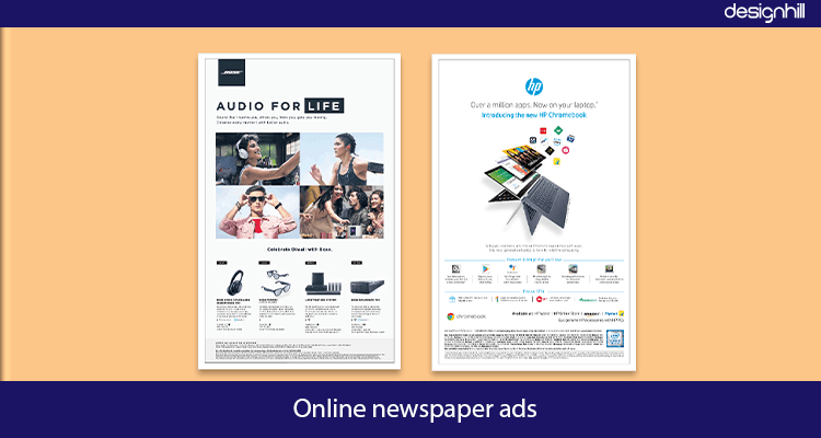 Online Newspaper Ad Design