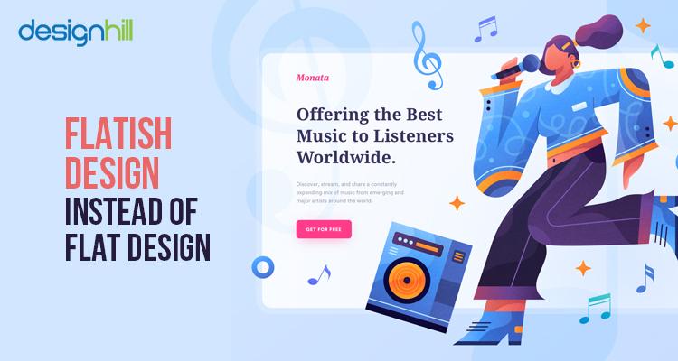 Flatish Design