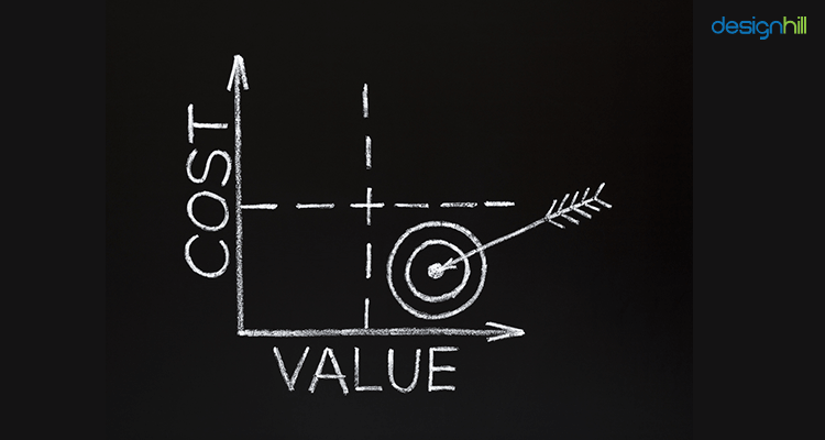 difference between cost and value