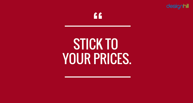 Stand By Your Prices
