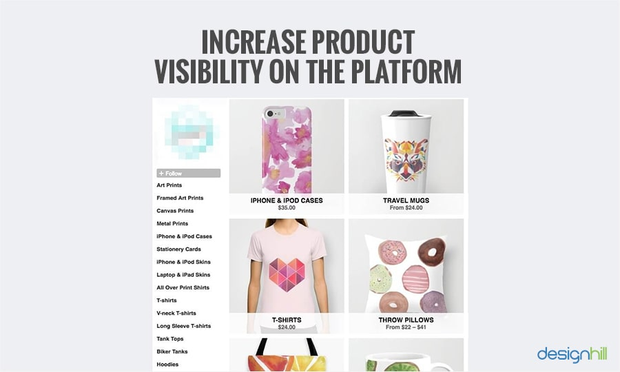Increase Product Visibility