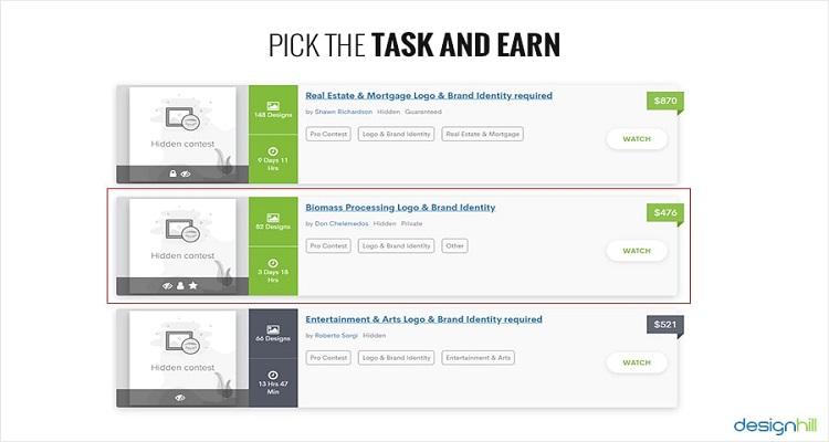 Pick Task & Earn