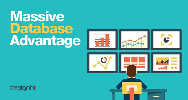 Massive Database Advantage