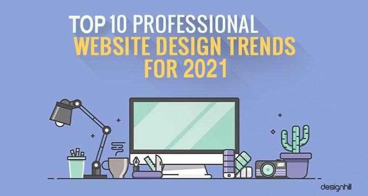 Professional Website Design Trends