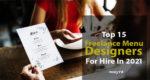 Freelance Menu Designers