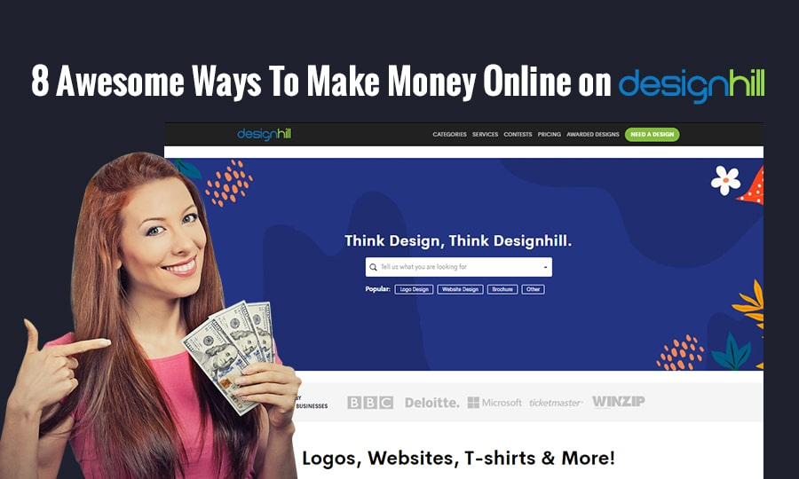 8 Awesome Ways To Make Money Online On Designhill