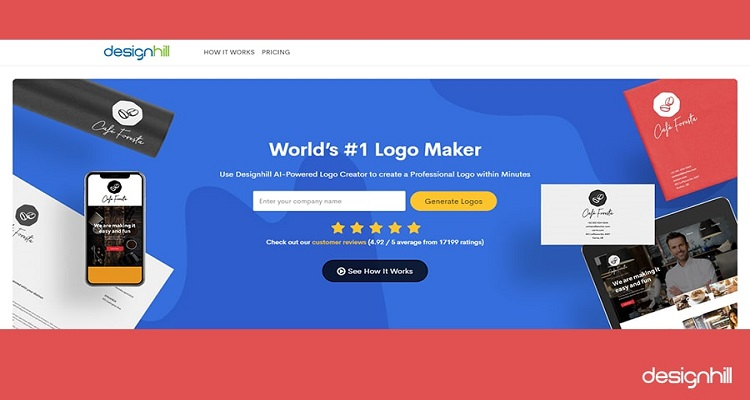 Designhill's Logo Maker