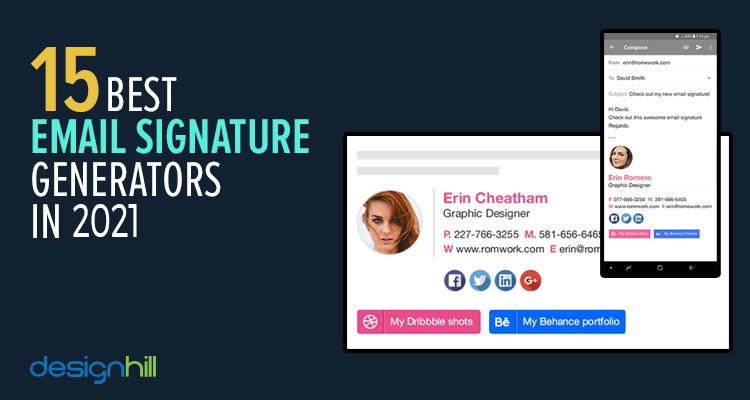 15 Best Email Signature Generators In 2021