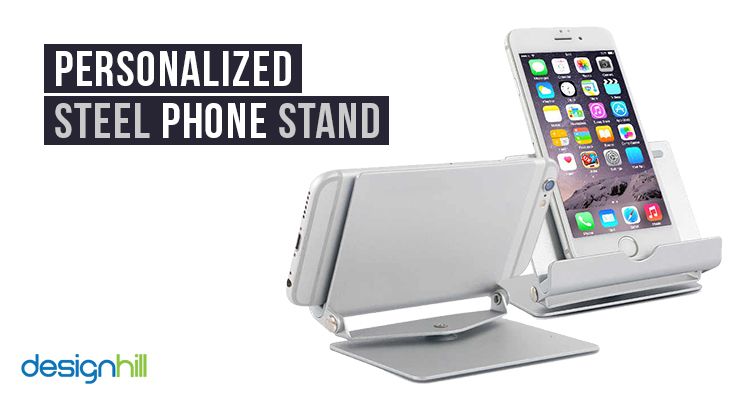 Personalized Steel Phone Stand