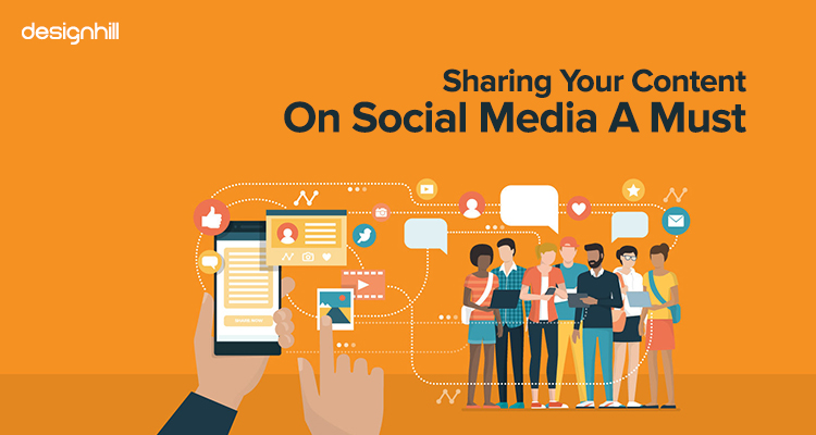 Sharing Your Content On Social Media A Must