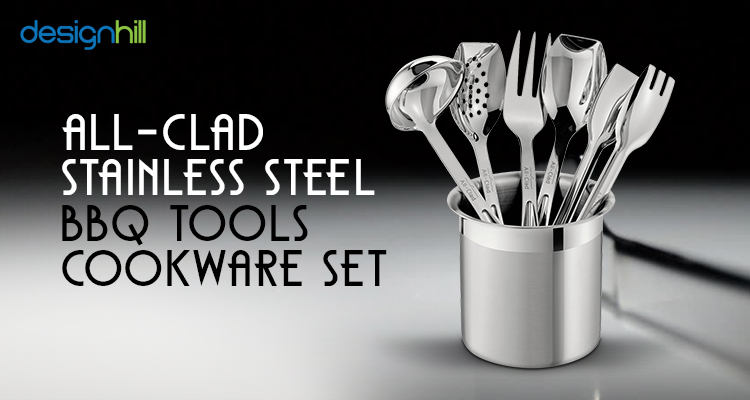 All-Clad Stainless Steel BBQ Tools Cookware Set