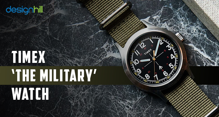 Timex 'The Military' Watch