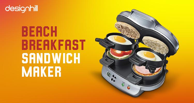 Beach Breakfast Sandwich Maker