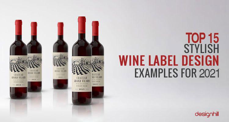 Wine Label Design Examples