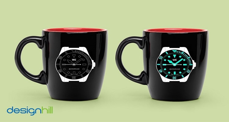 Wristwatch Mug Design