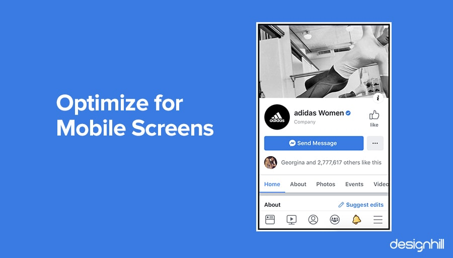 Optimize For Mobile Screens