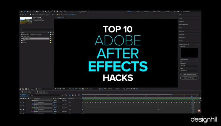 adobe after effects hacks
