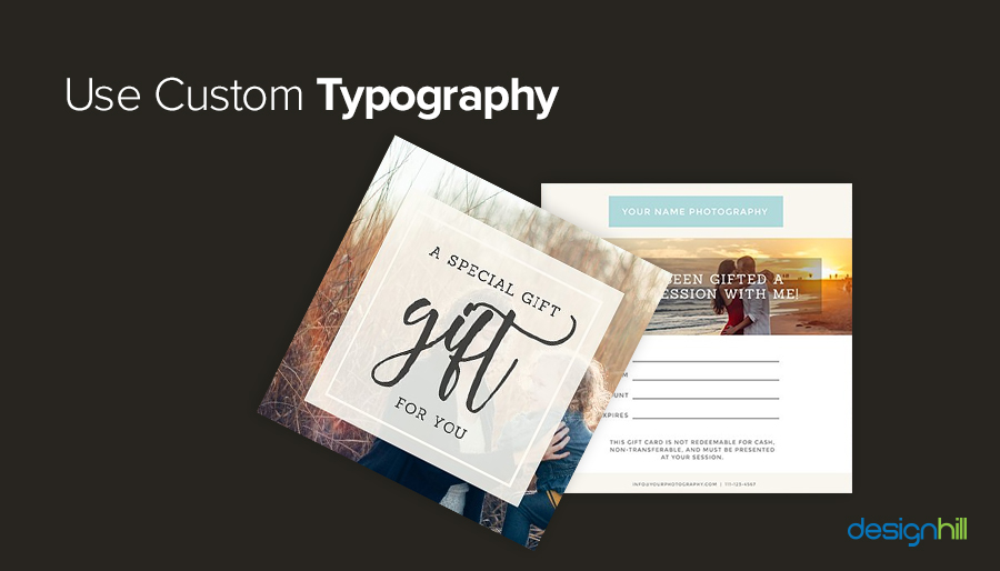 Use Custom Typography