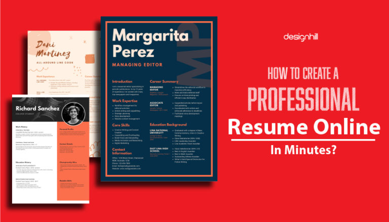 How To Create A Professional Resume Online In Minutes