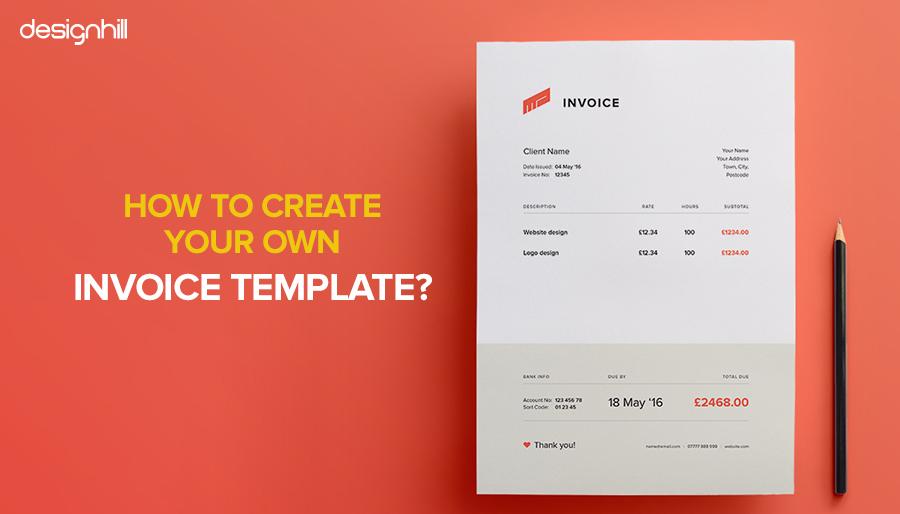 It Invoice Template from www.designhill.com