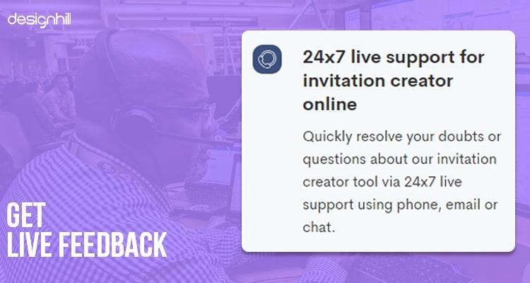 Get Live Feedback