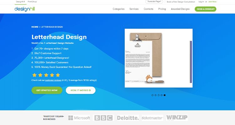 10 Tips To Create Innovative Letterhead Templates