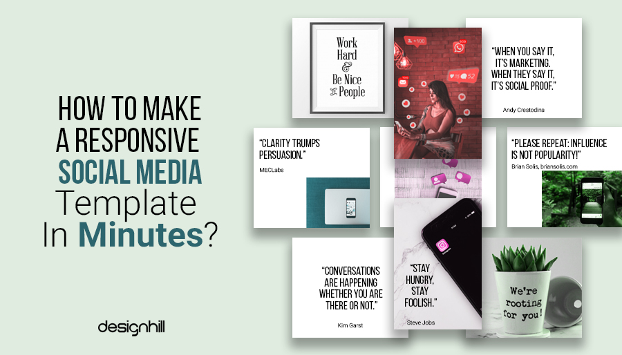 How To Make A Responsive Social Media Template In Minutes