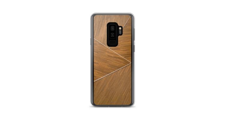 Geometric Wood Pattern Phone Case