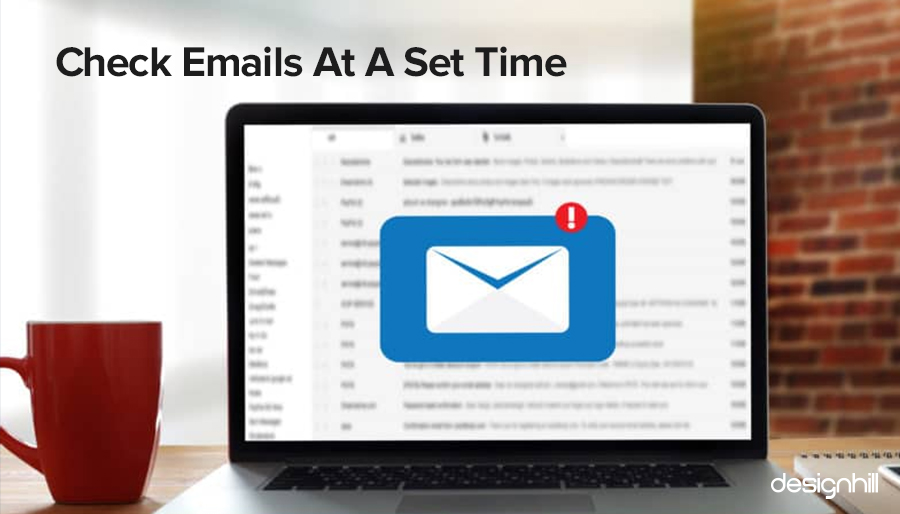 Check Emails At A Set Time