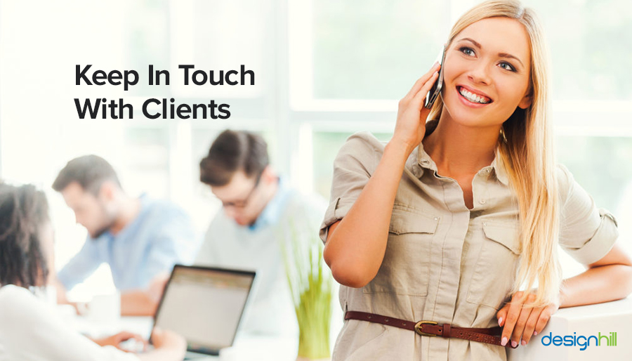 Keep In Touch With Clients