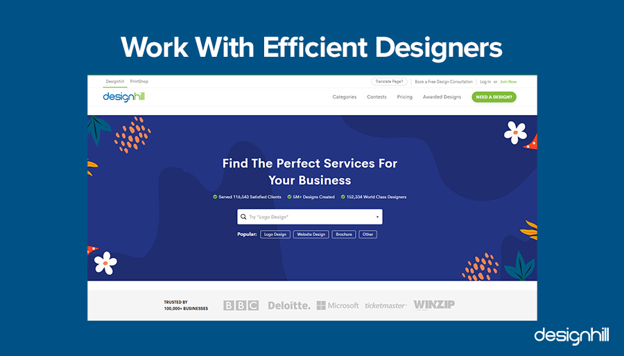 Work With Efficient Designers