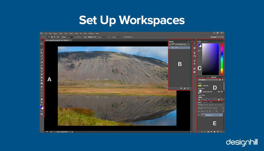 Set Up Workspaces