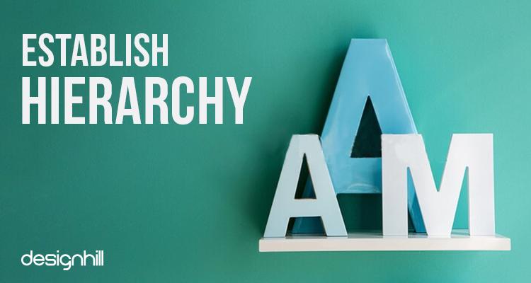 Establish Hierarchy