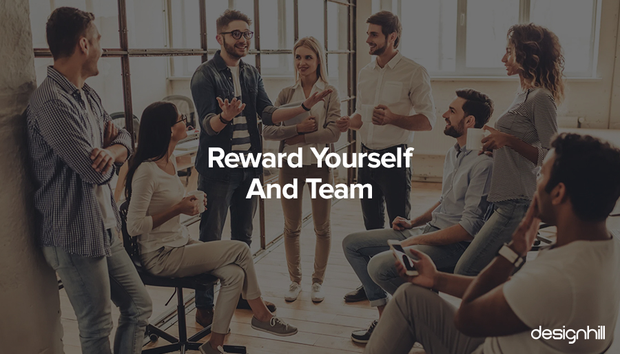 Reward Yourself And Team