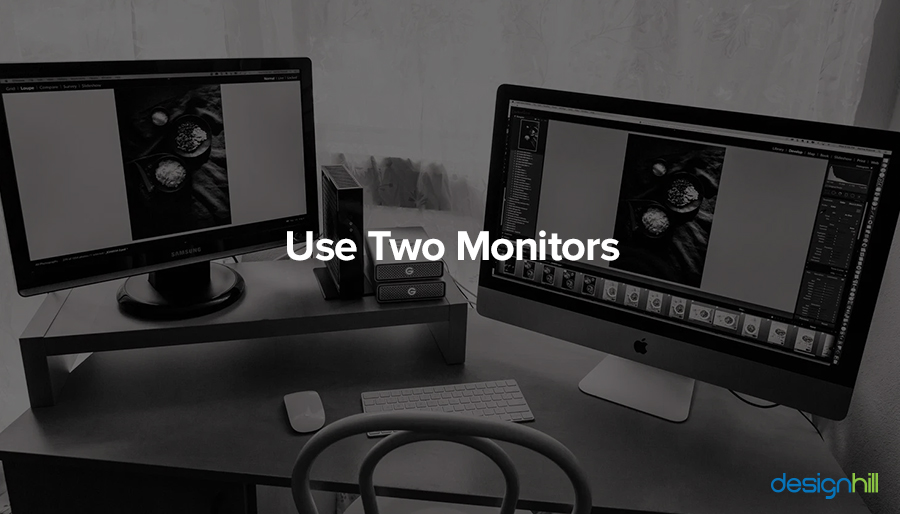 Use Two Monitors