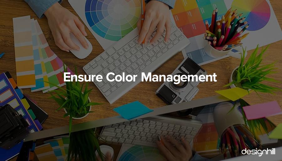 Ensure Color Management