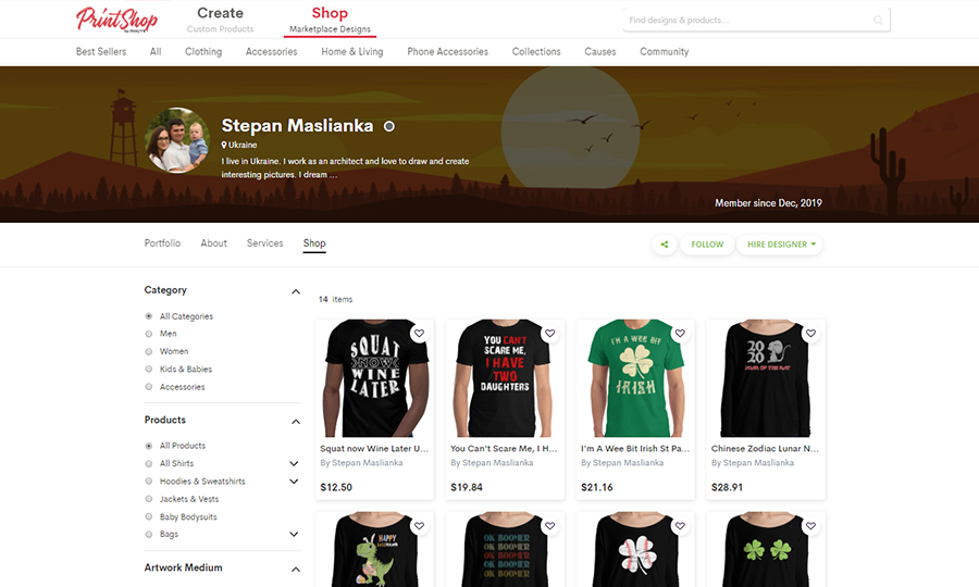 Stepan Shop