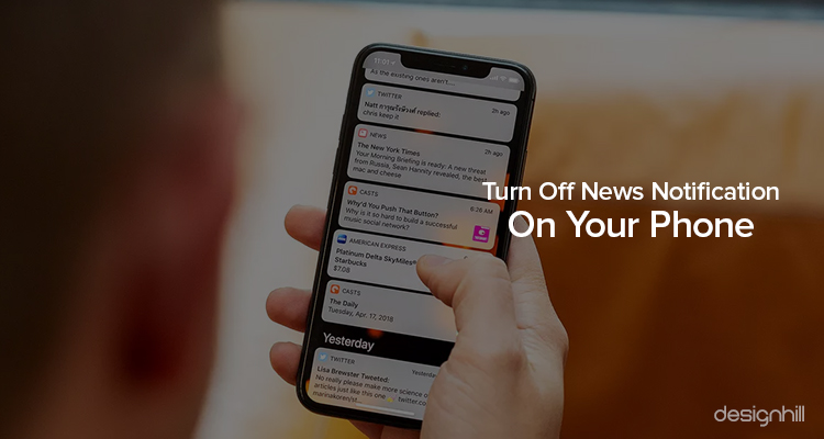 Turn Off News Notification On Your Phone