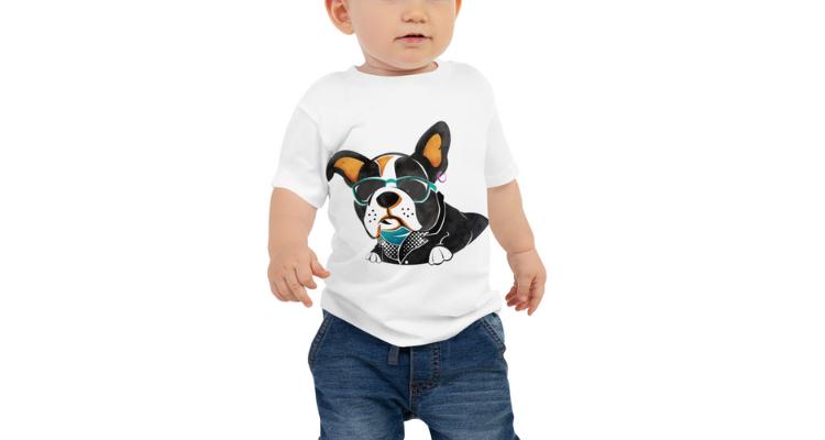 Dog T-shirt Art