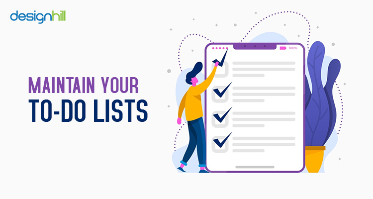 Maintain Your To-Do Lists